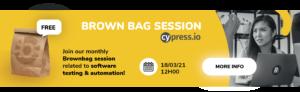 Banner Brown bag Cypress